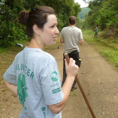 Oriane P au Costa Rica